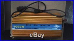 1000W Watt Solar Grid Tie Power Inverter for Solar Panel 20-45V AC 115v 60hz