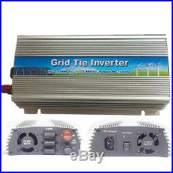 1000W Watt Solar Micro Grid Tie Power Inverter for Solar Panel 10.5-30V AC