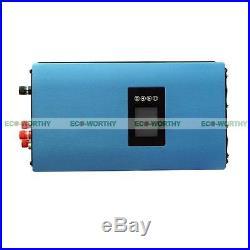 1000W Wind Power Generator Grid Tie Power Inverter Auto Switch AC 110V & 220V