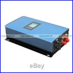 1000W Wind Power Generator Grid Tie Pure Sine Wave Inverter AC 220V Home