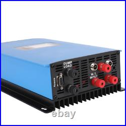 1000W Wind Power Grid Tie Inverter With Dump Load Controller/Resistor For 3 Phas
