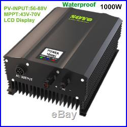 1000W and 1200W Grid Tie Inverter for salar panels different DC INPUT, pick one
