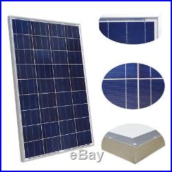 1000W on / off Grid Solar System 100W Solar Panel With Power Inverter for Home RV