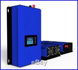 1000w Solar Power Grid Tie Inverter DC 22-65V 120V Limiter sensor Wifi Plug