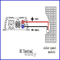 110V 1000W Watt Solar Micro Grid Tie Power Inverter for Solar Panel 10.5-30V AC
