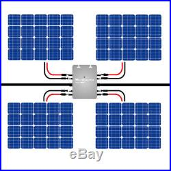 110V 1200W MPPT Waterproof Solar Grid Tie Inverter DC22-50V Power Inverter