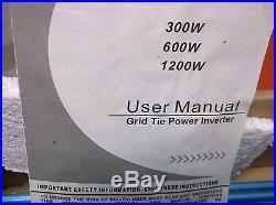 1200 Watt Grid Tie Inverter