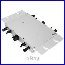 1200W 110V/220V Mppt Pure Sine Wave Grid Tie Micro Inverter WVC-1200 Inverter