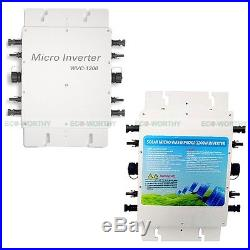 1200W 230V Waterproof Grid Tie Power Inverter for Solar System with MPPT Function