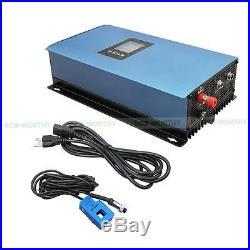 1200W 6195W Grid Tie Mono Solar Panel Kit+ 1000W Grid Tie Inverter RV for Home