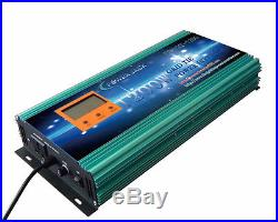 1200W Grid Tie Inverter 102V-158V DC/110V AC With LCD Meter&MPPT For Solar Panel