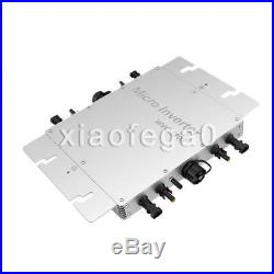 1200W Grid Tie Micro Inverter 433MHz wireless communication MPPT Pure SineWave