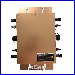 1200W Grid Tie Micro Inverter DC22-50V to AC110V or 220V Pure Sine Wave Inverter