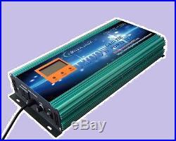 1200W Grid tie power inverter DC 28V-48V to AC 110V + LCD meter L, MPPT for solar