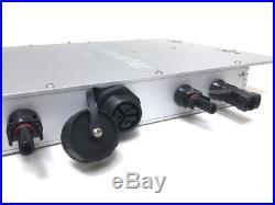 1200W MPPT Solar Micro Grid Tie Inverter IP65 DC 10.5-50V AC 110V (90V-130V)