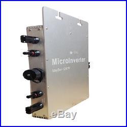 1200W MPPT Solar Micro Grid Tie Inverter IP65 DC 10.5-50V AC90-260V 50/60Hz