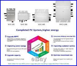1200W MPPT Waterproof Solar Grid Tie Inverter DC22-50V to AC Power Inverter