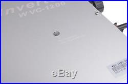 1200W MPPT Waterproof Solar Grid Tie Inverter DC22V-50V to AC220V Solar Inverter