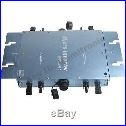1200W Waterproof Grid Tie Inverter Use For 24V/36V Panel Pure Sine Wave Inverter
