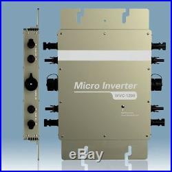 1200W Waterproof Micro Grid Tie Inverter Solar Inverters Power Inverter Automati