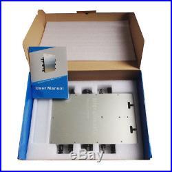 1200W grid tie micro inverter, mppt pure sine wave DC 22-50V IP65 110V
