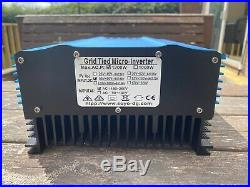 1200W waterproof grid tie inverter for solar and or wind direct into 240V AC