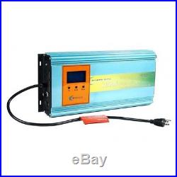 1200w grid tie power inverter dc 26.4-45v to ac 110v for solar panel+LCD, MPPT-W