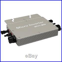 120VAC 600W Grid Tie Inverter 600Watt Solar Power Pure Sine Wave Micro Inverter