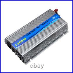 1300W Solar Grid Tie Inverter DC10.8-30V to AC110V Pure Sine Wave Micro Inverter