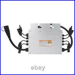 1400W LED Solar Grid Tie Inverter 18V-50V to 120V 230V MPPT Micro Waterproof