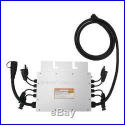 1400W MPPT Grid Tie Micro Solar Inverter 120V 230V SG1400MQ SG Series Inverter