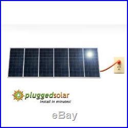 1500 Solar Panels Watt And Micro Grid Tie Inverter, Simply Plug Into Wall, 120V