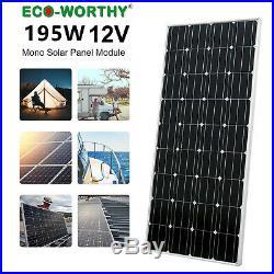 1500W Grid Tie Solar System Kit 8 pcs 195W Solar Panel & 2KW Grid Tie Inverter