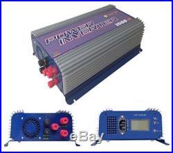 1500W LCD mppt solar grid tie inverter DC45-90V AC 230V