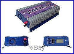 1500With2000W Grid tie inverter, DC45-90V, AC120/230V, pure since wave inverter mppt