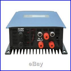 1KW 1000W 22V-65V DC Wind Power Inverter 110V AC For Grid Tie Wind Turbune Kit