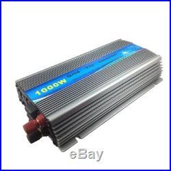 1KW 1000W Grid Tie Solar System 10100W Solar Panel with 1000W Inverter 24V Home