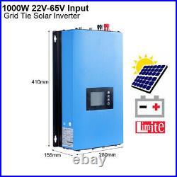 1KW 2KW Solar On Grid Tie Inverter & Power Limiter DC 22-65V/45-90V kit Home