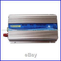 1KW DC12V-AC110V Grid Tie Inverter For Home Solar Panel System MPPT Function