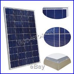 1KW Grid Tie Solar Panel 10x100W Solar Panel & Inverter For Home Light Fan Power