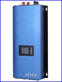 2000W 3 Phase Wind Turbine Grid Tie Inverter Limiter AC 45-90V SUN 2000GTIL WAL