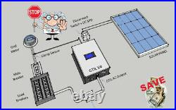 2000W Grid Tie Solar Inverters Power Limiter DC 45-90V AC 220V 230V SUN 2000GTIL