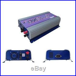 2000W Pure Sine Wave Grid Tie Inverter For 3 Phase Wind Turbine With Dump LCD