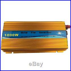 2000W Solar Grid Tie Inverter DC22-45V AC110V Power Converter Charger 10002pcs
