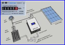 2000W Solar On Grid Tie Inverter AC 220V With Limiter Solar Panels Home System