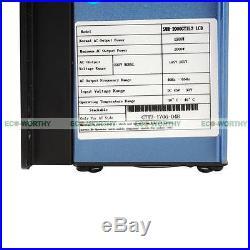 2000W Solar System 20pcs 100W Solar Panel & 2KW Grid Tie Inverter Charging Home