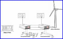 2000W Wind Turbine on Grid Tie Inverter AC 45-90V AND AC 220V 3 phase