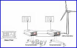 2000W Wind Turbine on Grid Tie Inverter Wi-Fi port Optional 45-90v 220V 3 phase