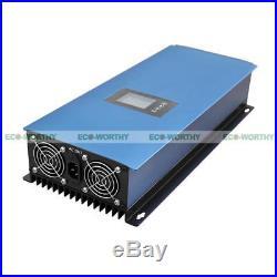 2000W on Grid Tie Inverter Power Limiter, MPPT PV System DC 45-90V solar panel