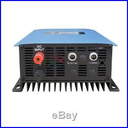 2000W on Grid Tie Inverter with Limiter Solar Panels Battery Home PV SUN 2000GTI
